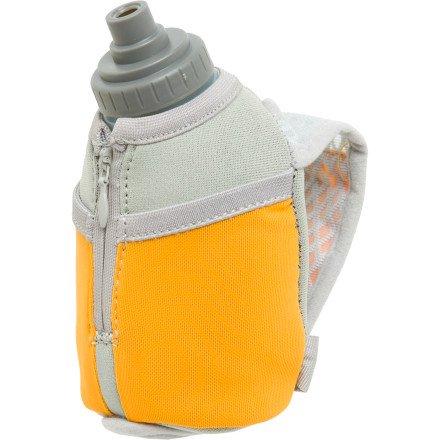 Nathan Nathan Thermal Quickshot Handheld Hydration with 10oz Bottle: Orange
