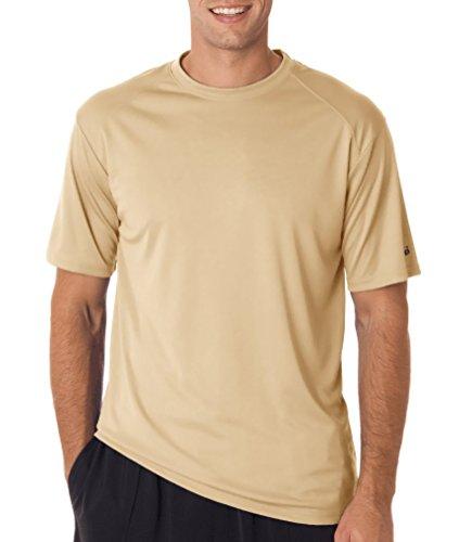 badger-adult-b-core-short-sleeve-performance-tee-vegas-gold-small