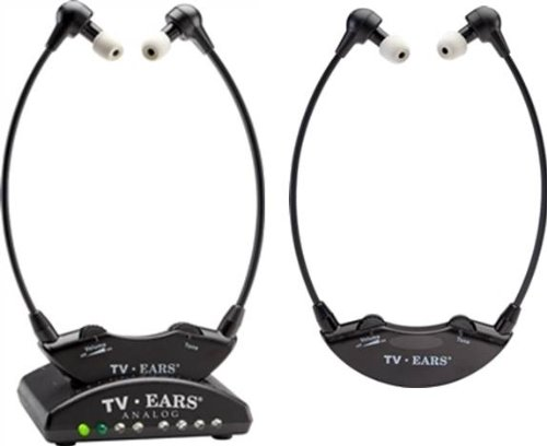 Tv Ears 5.0 Analog System Headset Bundle - Includes 2 Wirless Headsets