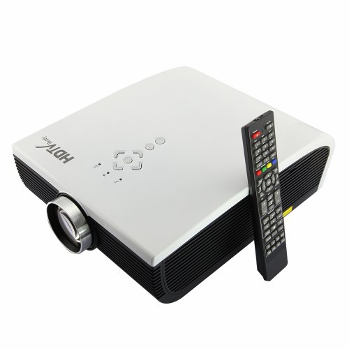 EPW900 4:3/16:9 Image Scale Single Panel LCD 1280*800 Physical Resolution 1200:1 Constrast home cinema portable projector with 3HDMI 2USB audio input/output