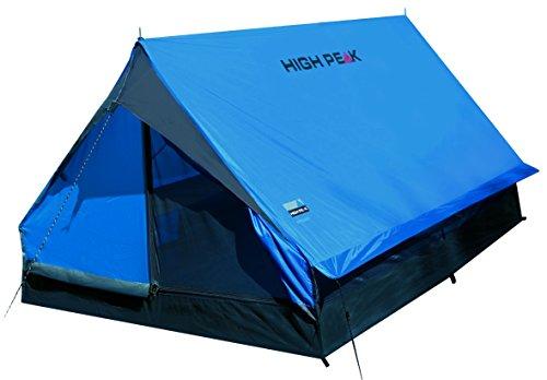 High Peak, Tenda da campeggio, Blu (Blau/Dunkelgrau), Standard
