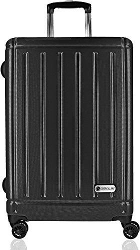 checkin-halifax-valise-4-roulettes-trolley-69-cm-carbon-schwarz