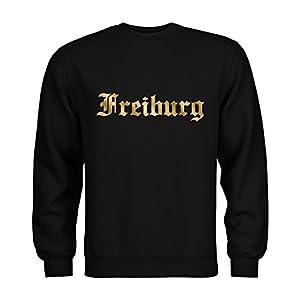 dress-puntos Sweatshirt Freiburg Schriftzug 20drpt15-s00922