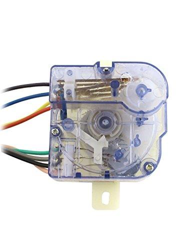 [해외]Uxcell DXT15SF-G AC 220V의 3A 기계 세탁기 타이머, 맑고 푸른 세탁기 (8) 전선/Uxcell DXT15SF-G AC 220V 3A 8 Wires Washing Machine Washer Time