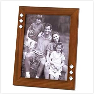Easel Back 8 X 10 Table Top Jeweled Photo Picture Frame