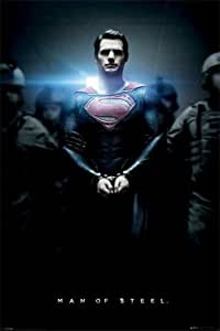 1art1 64021 Superman Poster - Man Of Steel, 91 x 61 cm