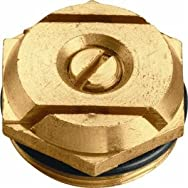 Orbit53054Brass Sprinkler Head Insert-STRP PATTERN BRASS INS