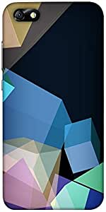 Snoogg Polygon Abstract 2543 Designer Protective Back Case Cover For Huawei H...