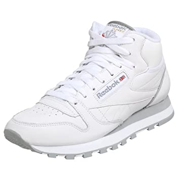 Reebok Men's Classic Leather Mid Sneaker