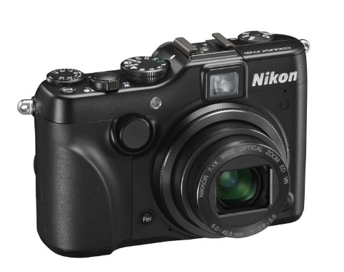Nikon Coolpix P7100 Digital Camera - Black (10.1MP,