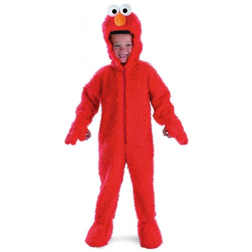 Elmo Deluxe Plush Costume: Toddler's Size 2T