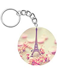 Beautiful I Love Paris | ShopTwiz Printed Circle Key Ring