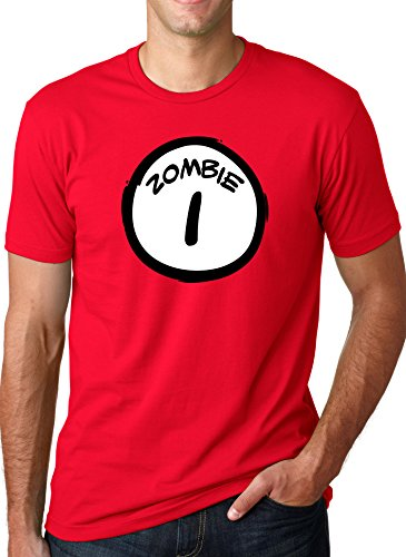 Zombie One T Shirt Funny Halloween Couple's Costume Zombies Tee
