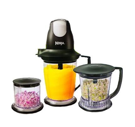 Ninja Master Prep Professional Blender, Chopper and Ice Crusher: More Power & 2 Times Faster