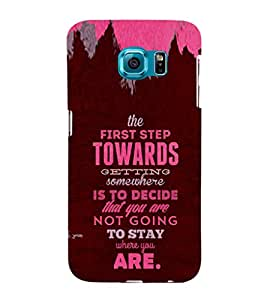 ifasho Designer Phone Back Case Cover Samsung Galaxy S6 Edge :: Samsung Galaxy S6 Edge G925 :: Samsung Galaxy S6 Edge G925I G9250 G925A G925F G925Fq G925K G925L G925S G925T ( Society People Busy Life )