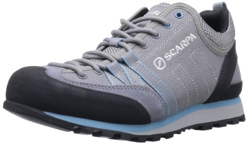 Scarpa Women's Crux Canvas Approach Shoe,Grey,40.5 EU/8.7 M US