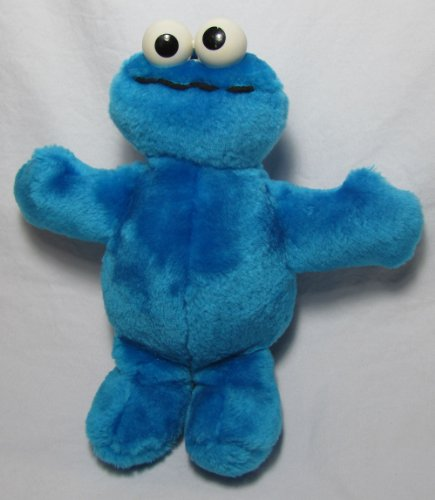 Cookie Monster 9in Tyco Retired Plush Doll - 1