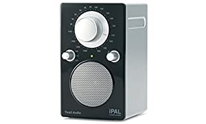 Tivoli Audio iPAL PALIPALB Portable Radio for iPod, High Gloss Black/Silver