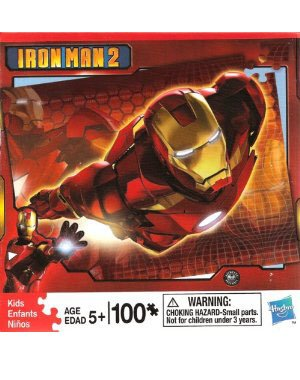 Cheap Hasbro Iron Man 2 Flying Iron Man – 100 Piece Puzzle (B003ZX3FI8)
