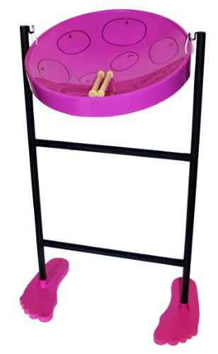 Jumbie Jam Steel Drum Musical Instrument, Purple (Steel Pan Case compare prices)