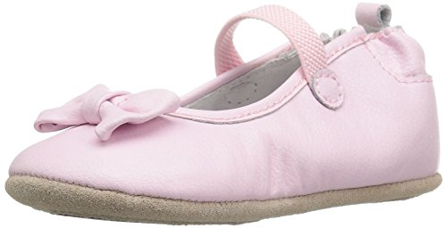 Robeez Girls' Penny Sneaker, Light Pink, 12-18 Months M US Infant (12 Split compare prices)