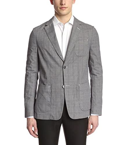 Ermenegildo Zegna Men's Glen Plaid Blazer