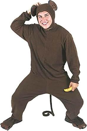 Amazon.com: Adult's Monkey Halloween Costume (Size