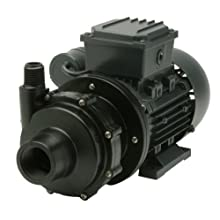 Finish Thompson DB3V-T-M612 Centrifugal Magnetic Drive Pump, PVDF, 1/8 HP, 115V, 1 Phase, 20.4 Max Feet of Head, 15.1 gpm