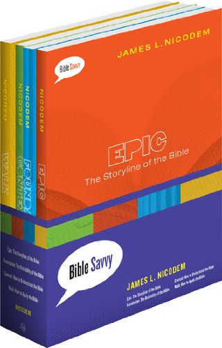 Bible Savvy Set of 4 books (Bible Savvy Series)