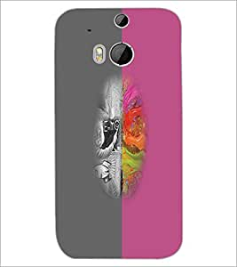 HTC ONE M8 EYE DESIGN Designer Back Cover Case By PRINTSWAG