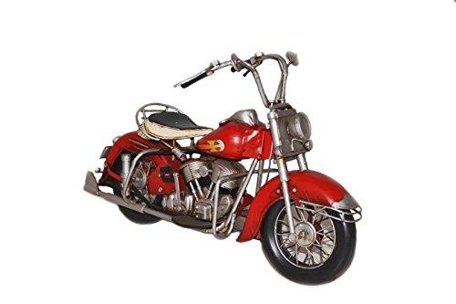 Model Motorcycle Harley 1957 - Retro Tin Model