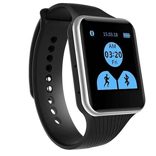 EFOSHM® X15 Smart Watch,Bluetooth Watch Phone Mate For iOS Apple iPhone and Android Sumsung HTC Symbian Blackberry Windows SmartPhones. BIG ADVANTAGE- Don't NEED INSTALL APP.