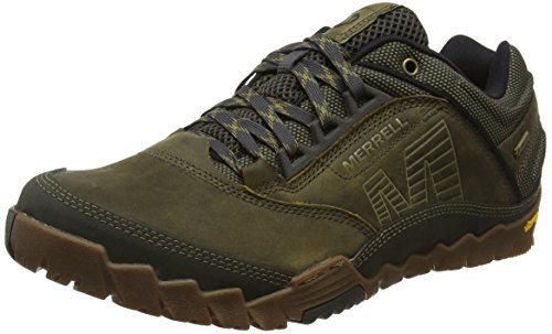 merrell-annex-gore-tex-mens-lace-up-low-rise-hiking-shoes-green-olive-10-uk