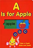 A Is For Apple (ABC) Take A Peek! Slide And Seek!