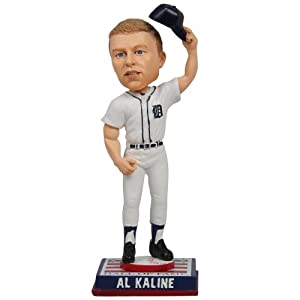 Al Kaline Detroit Tigers Cooperstown Collection HOF Logo Base Bobble Head by My Sports Shop