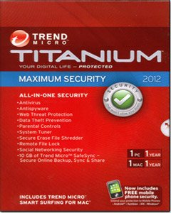 Titanium Maximum Security 2012 - 1 User [Old Version] back-618347