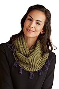 Tey-Art Marley Alpaca Infinity Fair Trade Scarf (Green)