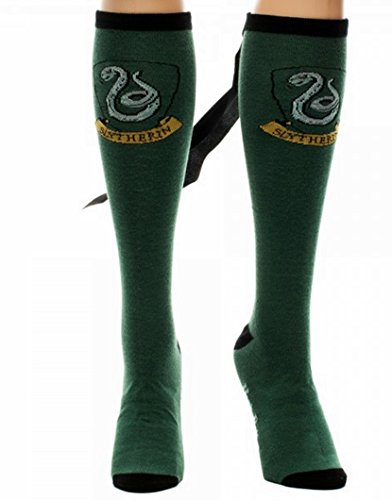 Harry Potter SLYTHERIN CREST Green KNEE SOCKS with CAPE