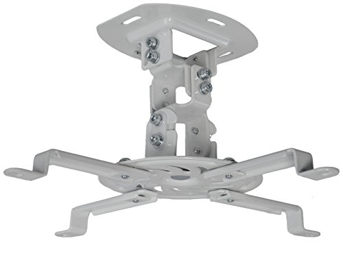 vivo-universal-adjustable-white-ceiling-projector-projection-mount-extending-arms-mount-vp01w