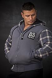 BIG SAM SweatJacket Sweater Sweatshirt Hoody UNCLE BODY DOG LOGO *3588*