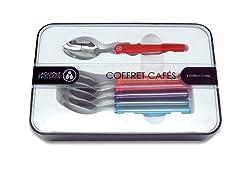 Laguiole Evolution 30020008 6-Piece Acidule Cutlery Set