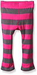 Trumpette Toddler Girls Chloe Pink Stripe Leggings, Multi, 12-18 Medium