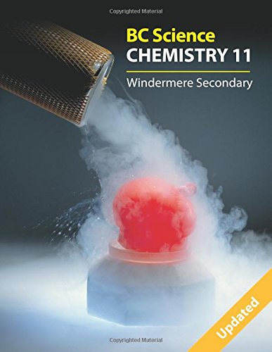 Bc Science Chemistry 11: Windermere Secondary