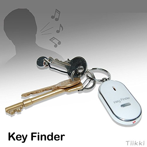 Hot Sale WHISTLE KEY FINDER FLASHING BEEPING REMOTE LOST KEYFINDER LOCATOR KEYRING (Locators For Remotes compare prices)