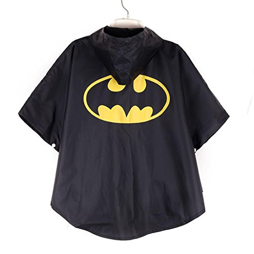 Flowerbb superhero batman batboy kids costume raincoat rainsuit YY05