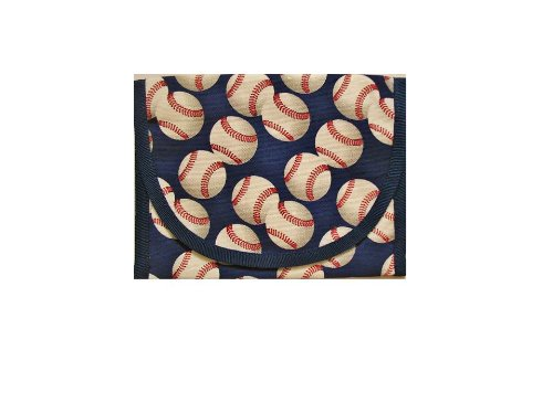 ReSnackit Reusable Sandwich and Snack Bag, Baseball - 1
