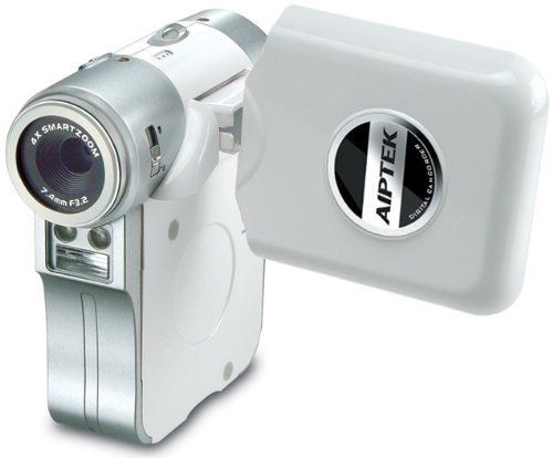 Aiptek PocketDV T300 LE Camcorder with DSC Digital Camera, WebCam and Voice Recorder - White Reviews