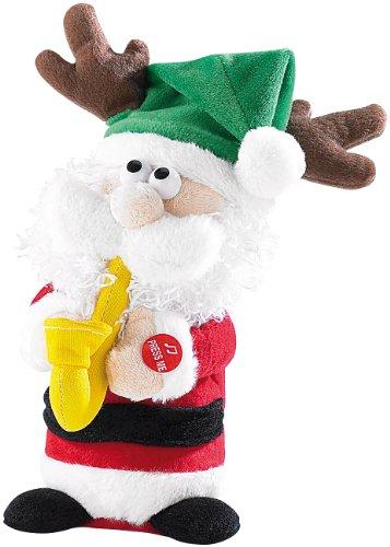 infactory-Musizierender-Weihnachtsmann-Saxophone-Santa