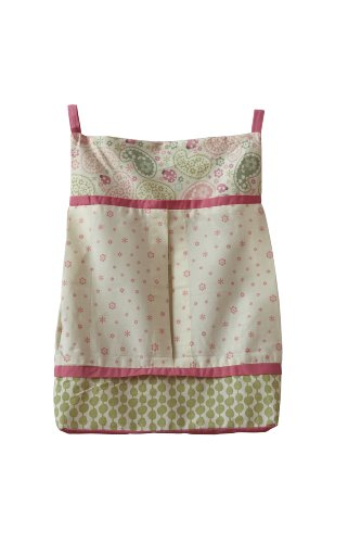 Summer Infant Kenneth Brown Diaper Stacker Ladybug Paisley