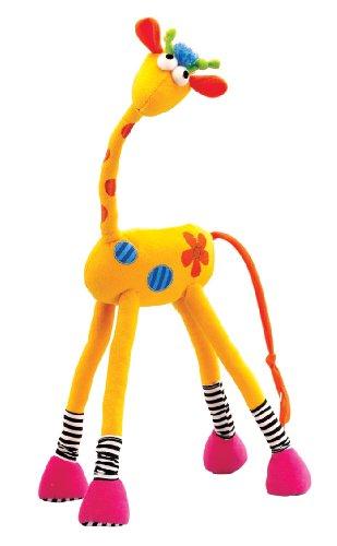 Wonderworld Twistable Stuffed Animal Flexi Raffy front-844386
